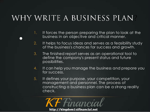 The importance of a business plan essay